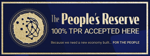 Logo for The people's reserve